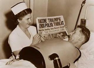 Polio Vaccine Shot Scar