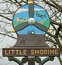 Little Snoring Sign